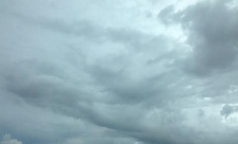 Terça-feira com tempo nublado e pancadas de chuva em Mato Grosso do Sul