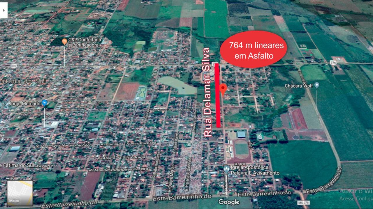 Pavimentação vai interliga Avenida 09 de Julho ao mini-anel-rodoviário.