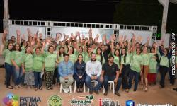 VEJA AS FOTOS DA ENTREGA DE CERTIFICADOS DO SINDICATO RURAL E SENAR/MS EM FÁTIMA DO SUL