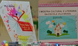 VEJA AS FOTOS DA MOSTRA CULTURAL E LITERÁRIA DA ESCOLA VILA BRASIL DE FÁTIMA DO SUL
