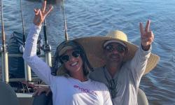 Graciele passa 4 dias em Corumbá com Zezé e curte o Pantanal