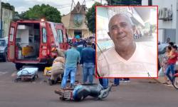 Morre no Hospital da SIAS, motociclista ferido em acidente em frente à Caixa Econômica de Fátima do Sul