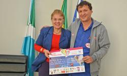 Prefeita Ilda Machado recebe coordenador do Hospital de Amor que promove 3º Leilão Direito de Viver