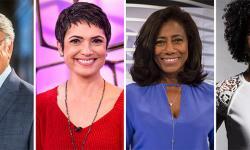 Sérgio Chapelin deixa o Globo Repórter, e Sandra Annenberg e Glória Maria apresentarão o programa; Maju Coutinho assumirá o JH
