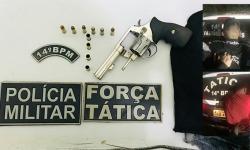Dupla é presa depois de tentar matar homem em bar e outro em inauguração de tabacaria em Fátima do Sul