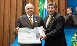 40 ANOS ALMS: Como governador, Londres Machado assinou o plano salarial do Magistério e conduziu o MS em momento de crise política