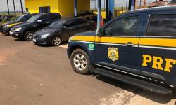 PRF recupera Corolla e Ranger roubados em Glória de Dourados durante fuga para o Paraguai