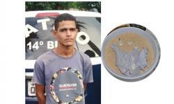 Assaltante de farmácia morador em Fátima do Sul vendia maconha e cocaína que estava escondida em pote de farinha
