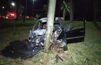 Condutor de veículo que atingiu e matou ciclista em Dourados presta depoimento no hospital
