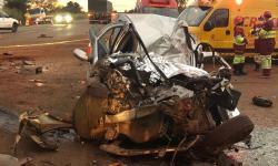 Identificado o casal morto em acidente na BR 163, entre Nova Alvorada e Rio Brilhante
