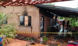 Mulher morre carbonizada durante incêndio em residência em Fátima do Sul