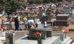 Prefeitura de Fátima do Sul prepara cemitérios para receber visitantes, realização de missas, cultos e celebrações