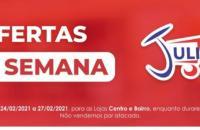 INFORME PUBLICITÁRIO: Confira as Ofertas da Semana e da Quinta da Carne do Mercado Julifran de Fátima do Sul