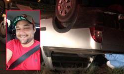 De família fatimassulense, André Canuto morre em acidente na curva da BR-376 entre Jateí e Glória de Dourados