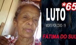 Aos 71 anos, mãe de vereador Ezequiel Ferreira morre de covid; a 65ª vítima em Fátima do Sul