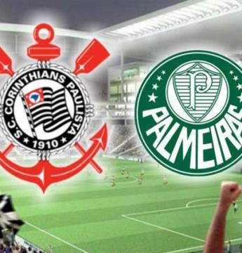 Palmeiras e Corinthians jogam