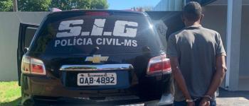 Foragido após estuprar meninas de 03 e 05 anos em Fátima do Sul é preso nesta segunda