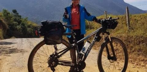 Depois do câncer, Danieli se apaixonou novamente pela vida pedalando