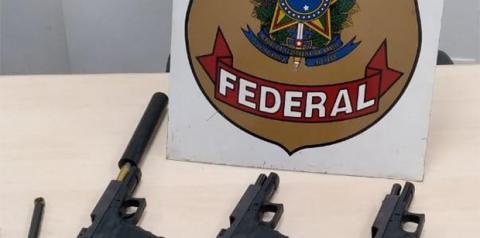 Dupla é presa pela PF com pistolas entre Dourados e Itaporã