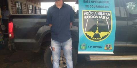 Analista de laboratório morador em Deodápolis é preso transportando 124 kg de maconha que seria entregue em São Paulo