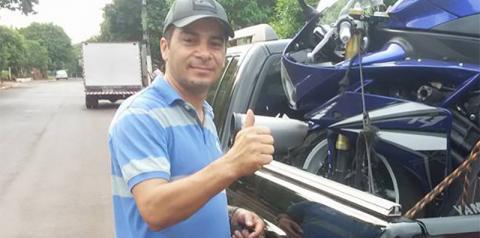 Após doação de órgãos, corpo do PM Sandrino Ricardo é velado na Capela Jardim das Orquídeas em Fátima do Sul