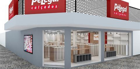 Nova e moderna loja Pé Legal inaugura nesta sexta-feira no centro de Fátima do Sul