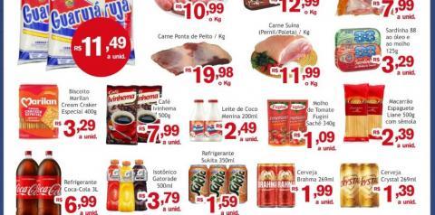 Faça suas compras para o final de semana com economia no Mercado Julifran de Fátima do Sul