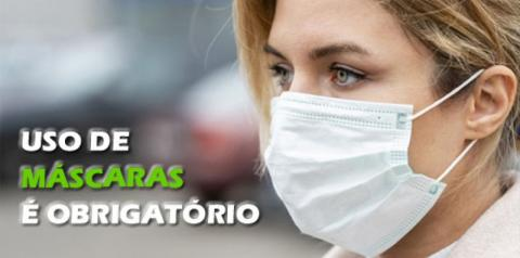 Uso de máscaras de proteção passa a ser obrigatório a partir de hoje em Fátima do Sul