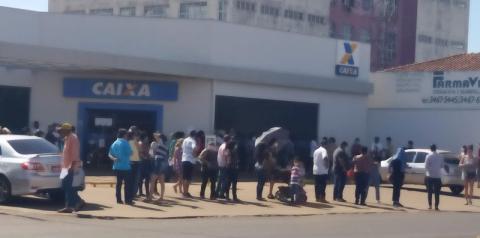 Caixa abre agência em Fátima do Sul para pagamento do auxílio emergencial no sábado