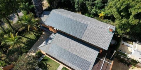 Brasil desenvolve sua primeira telha de concreto que capta energia solar