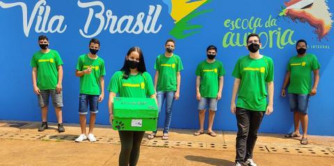 Estudantes da Escola Estadual Vila Brasil desenvolvem Projeto em parceria com ONG de Fátima do Sul