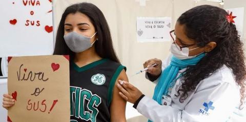 MS já vacinou mais de 73% dos jovens de 12 a 17 anos contra covid-19