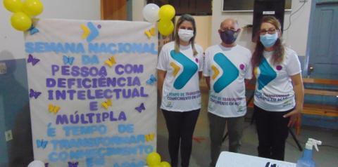 Apae comemora 34 anos de atuação em prol das pessoas com deficiência em Fátima do Sul