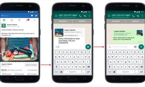 Facebook libera botão de mensagem para o WhatsApp em posts patrocinados
