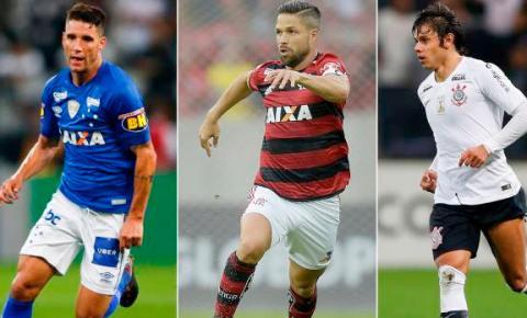 Flamengo, Cruzeiro e Corinthians jogam pela Libertadores nesta quarta
