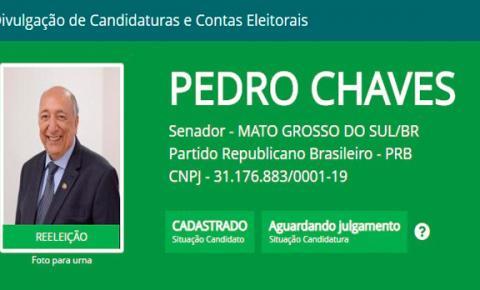 Após registrar candidatura, Pedro Chaves desiste de concorrer à reeleição para o Senado