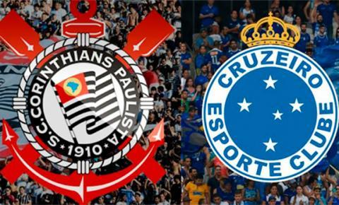Corinthians e Cruzeiro fazem final da Copa do Brasil nesta quarta