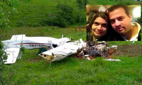 Pai, mãe e três filhos morrem após queda de avião em Minas Gerais