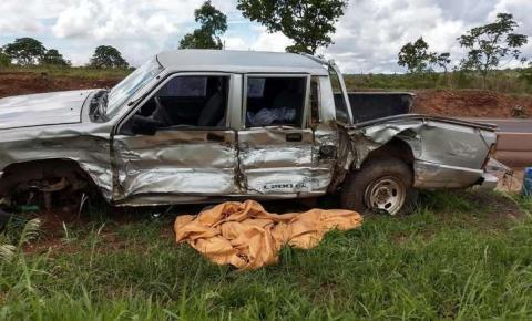 Ex-prefeito e fundador cidade de MS se envolve em acidente