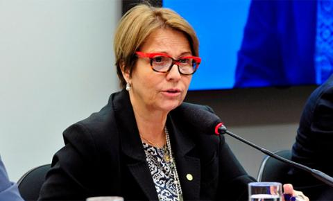 Tereza Cristina será ministra da Agricultura, anuncia Bolsonaro