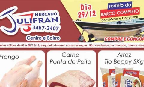 Confira as ofertas especiais para o seu início de mês no Mercado Julifran de Fátima do Sul