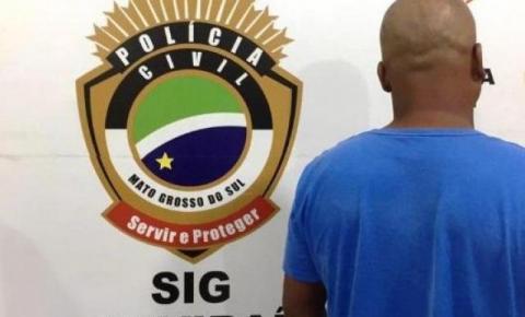 Polícia prende homem que foi condenado por estuprar filha de 3 anos em Naviraí