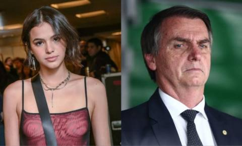 """Marquezine dispara contra Bolsonaro: """"explique as finanças da família"""""""