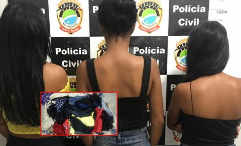 Polícia Civil recupera 20 mil reais em roupas furtadas de loja em Fátima do Sul e prende três adolescentes