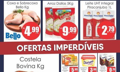 Confira as promoções da Quarta Verde e Volta as Aulas do Mercado Julifran de Fátima do Sul