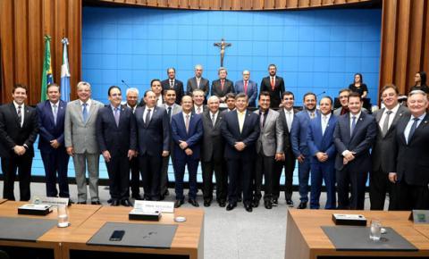 Deputados estaduais tomam posse e iniciam 11ª Legislatura