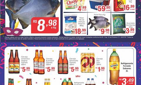 'Folia de Preços Baixos' no Mercado Julifran de Fátima do Sul