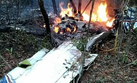 Queda de avião matou médico e esposa logo após decolagem em Campo Grande