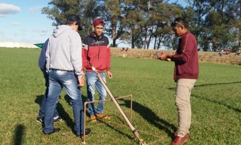 Alunos da escola Jonas Belarmino do Distrito de Culturama participam da Mostra Brasileira de Foguetes