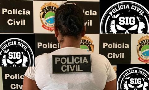 Em menos de 10h, Polícia Civil identifica e prende autora de tentativa de homicídio em Fátima do Sul